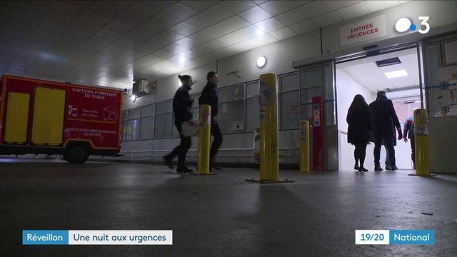 Réveillon : la nuit plutôt calme des urgences de l'hôpital Pompidou