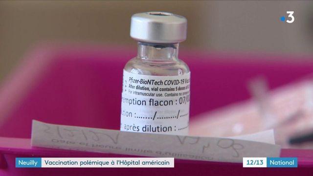 Neuilly-sur-Seine : des membres du conseil d'administration vaccinés avant les soignants ?