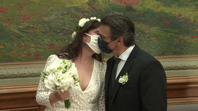 Mariages oui mais masques obligatoires !