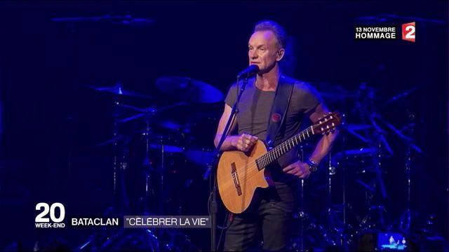 Sting fait renaître la musique au Bataclan