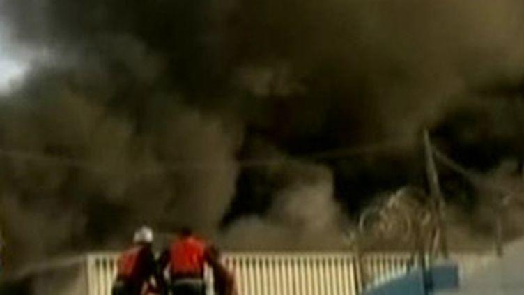 Après les raids israéliens de la nuit du 15 au 16 janvier 2009 à Gaza. (© France 2)