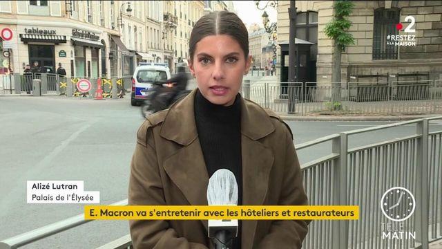 Coronavirus: Emmanuel Macron va s'entretenir avec les hôteliers et restaurateurs