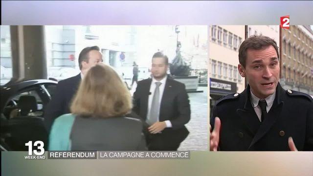 Brexit : la campagne du référendum a commencé