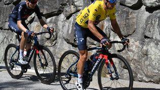 Richie Porte, vainqueur du classement général du Critérium du Dauphiné 2021. (ALAIN JOCARD / AFP)