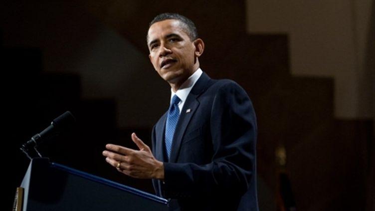 Barack Obama le 22 avril 2010 (AFP - Saul Loeb)
