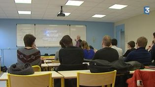 Des étudiants en formation pour devenir professeurs le 17 janvier 2015à Villeneuve-d'Ascq (Nord). (FRANCE 3 NORD PAS DE CALAIS )
