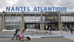 L'aéroport actuel de Nantes-Atlantique. (LOIC VENANCE / AFP)