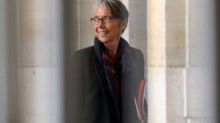 La ministre des Transports, Elisabeth Borne, à Paris, le 5 avril 2018. (LUDOVIC MARIN / AFP)