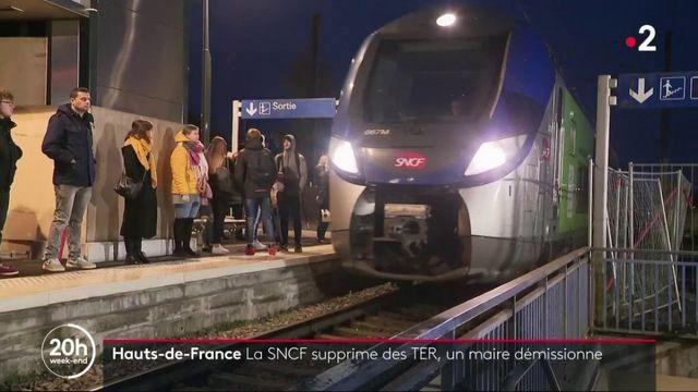 Hauts-de-France : la SNCF supprime des TER, un maire démissionne