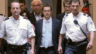 L'ancien urgentiste Nicolas Bonnemaison, lors de son procès à Pau (Pyrénées-Atlantiques), le 25 juin 2014. (GAIZKA IROZ / AFP)