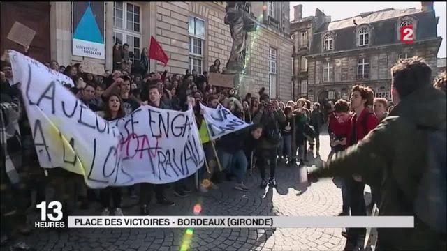 Loi travail : les jeunes mobilisés à Paris comme en régions
