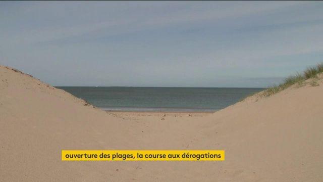 Manche : des maires se battent pour la réouverture des plages