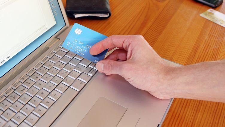 Les transactions par carte bancaire sur internet représentent 5% des paiements nationaux mais 33% du montant de la fraude à la carte bleue. (RICHARD NEWSTEAD / FLICKR)