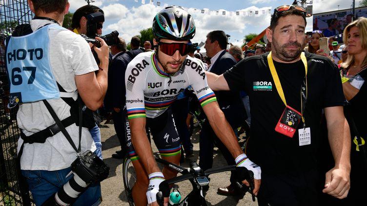 Peter Sagan exclu du Tour de France