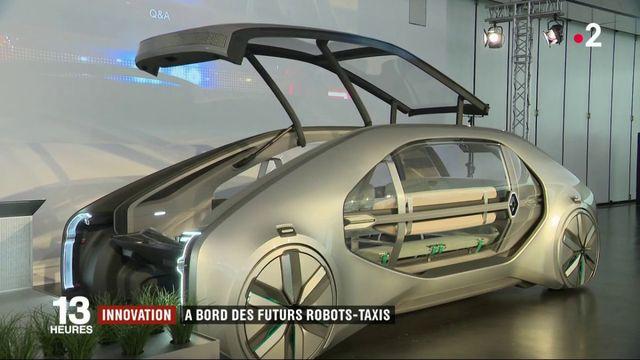 Innovation : à la découverte des futurs robots-taxis
