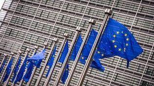 Le siège de la Commission européenne, àBruxelles (Belgique), le 18 juin 2014. (LEX VAN LIESHOUT / ANP MAG / AFP)