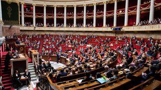 L'Assemblée nationale lors des questions au gouvernement, le 27 mars 2019. (CHRISTOPHE MORIN / MAXPPP)