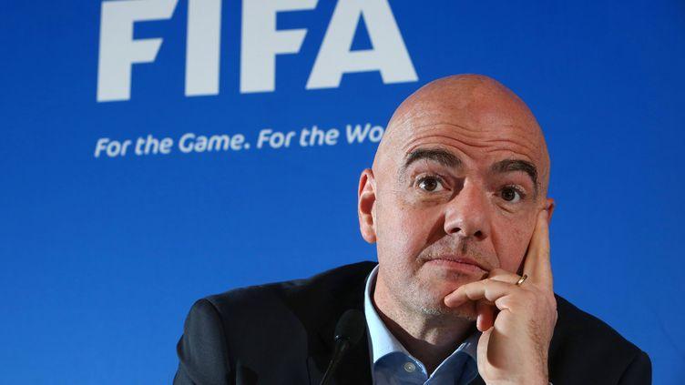 Gianni Infantino président de la FIFA