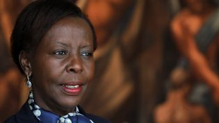 Louise Mushikiwabo : une Rwandaise élue présidente de la Francophonie le 12 ;octobre 2018  (Ludovic MARIN / AFP)