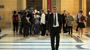 L'ancien ministre du Budget, Jérôme Cahuzac, le 12 septembre 2016 au palais de justice de Paris. (MAXPPP)