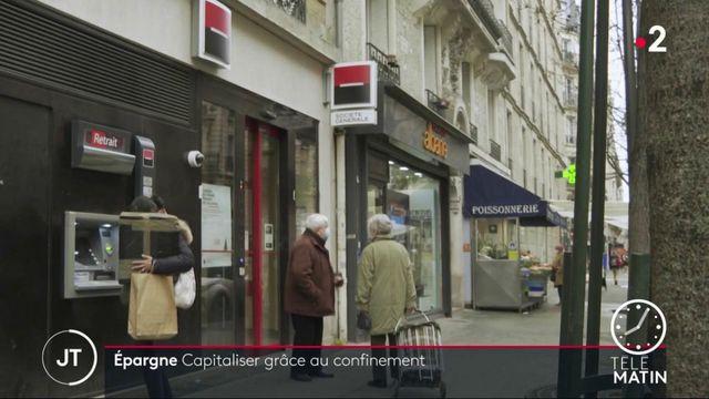 Face à la crise, les Français ont épargné 276 euros par mois en moyenne en 2020