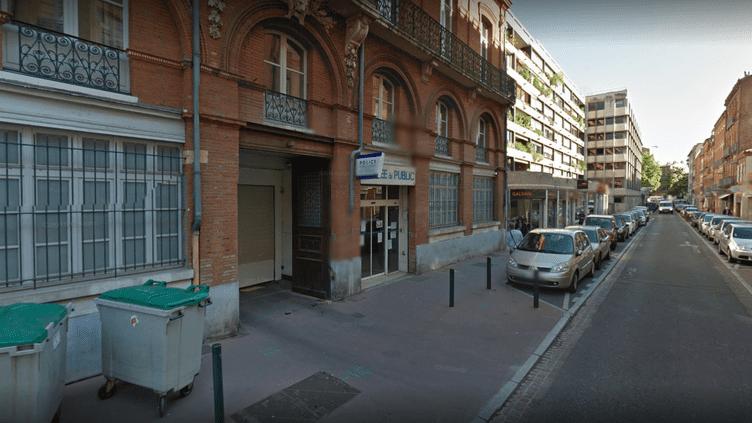 Le commissariat de Toulouse (Haute-Garonne) où un adjoint de sécurité a été agressé au couteau, le30 août 2016. (GOOGLE STREET VIEW)
