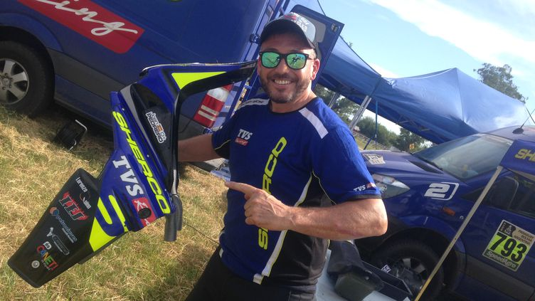 Le nouveau directeur sportif de Sherco David Casteu