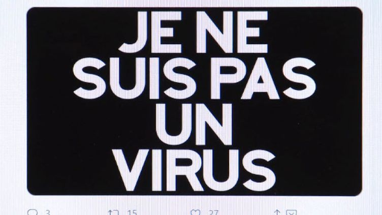 La ommunauté asiatique de France attaquée sur les réseaux sociaux à cause du coronavirus (FRANCEINFO)