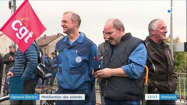 General Electric : les syndicats de l'usine de Belfort mobilisés pour sauver les emplois