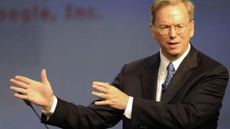 Eric Schmidt, le PDG de Google (AFP)
