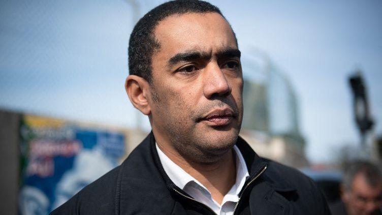 Le député LREM des Bouches-du-Rhône Saïd Ahamada, le 21 février 2020, à Marseille. (CLEMENT MAHOUDEAU / AFP)