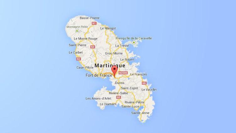 Le Lamentin, Martinique. ( GOOGLE MAPS / FRANCETV INFO )