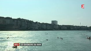Bâle : les baigneurs du Rhin (FRANCE 2)