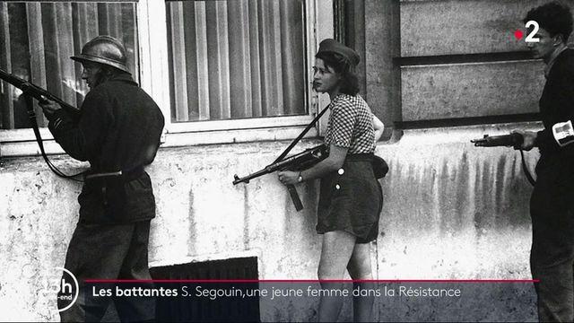 Les battantes : Simone Segouin, jeune résistante