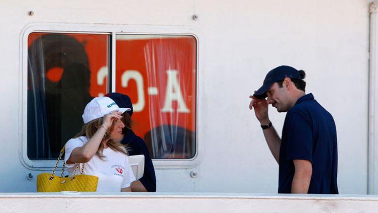 (Regina et Christopher Catrambone ont déjà fait une mission de trois mois et ont sauvé 3.000 migrants © Reuters-)