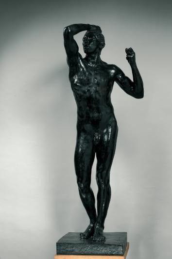 L'Âge d'Airain -Bronze H. 180,5 cm ; L. 68,5 cm ; P. 54,5 cm  (Musée Rodin )