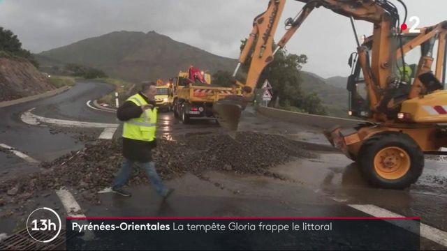 Tempête Gloria : le littoral touché par les fortes intempéries