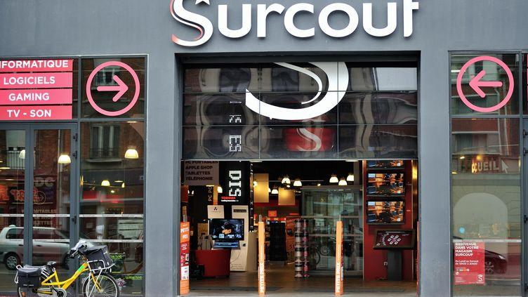 Le magasin Surcouf de Lille (Nord), le 2 mars 2012. (PHILIPPE HUGUEN / AFP)