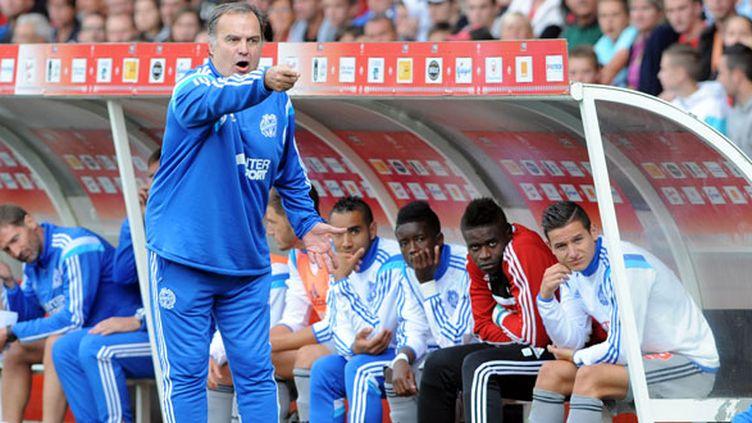L'entraîneur de l'OM Marcelo Bielsa