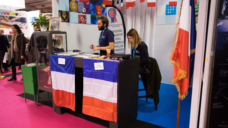 Le salon du Made in France a ouvert ses portes vendredi 18 novembre Porte de Versailles à Paris. (CHRISTOPHE MORIN / MAXPPP)