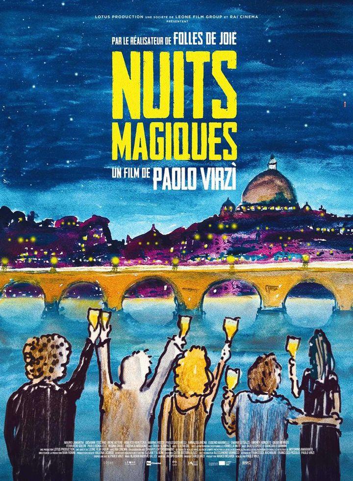 """L'affiche du film de Paolo Virzi, """"Nuits magiques"""". (Bac Films)"""