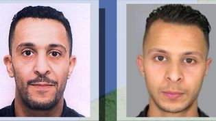 Les deux frères Brahim Abdeslam (à gauche) et Salah Abdeslam (à droite), impliqués dans les attentats du 13 novembre 2015 à Paris et à Saint-Denis. (FRANCE 2)