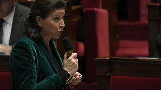 La ministre de la Santé Agnès Buzyn lors des questions au gouvernement, à l'Assemblée nationale (Paris), le 3 décembre 2019. (LIONEL BONAVENTURE / AFP)