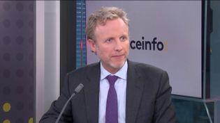 Christophe Basse, président du Conseil national des administrateurs et mandataires judiciaire, invité de franceinfo le 3 mars 2021. (FRANCEINFO)