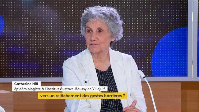 Covid-19 : avec la réouverture des terrasses, l'épidémiologiste Catherine Hill s'inquiète de l'évolution de l'épidémie