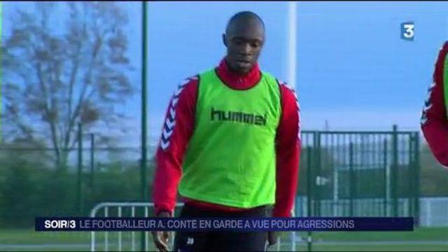 Le footballeur Antoine Conte mis en examen après une agression