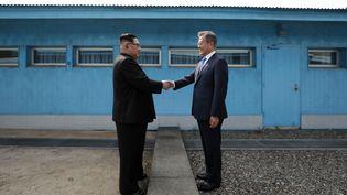 Kim Jong Un etMoon Jae-inse sont rencontrés deux foisen 2018. (KOREA SUMMIT PRESS POOL / KOREA SUMMIT PRESS POOL)