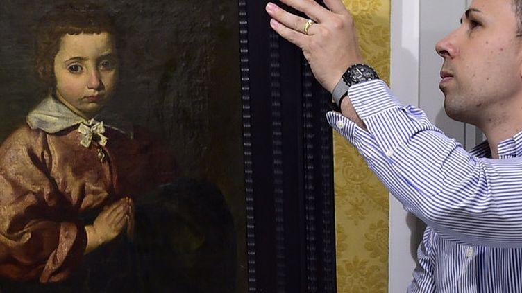 Un tableau attribué à Velazquez, un portrait d'enfant, adjugé 8 millions d'euros à Madrid