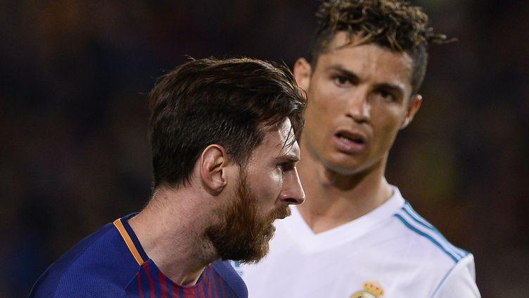 Ronaldo et Messi vont s'affronter pour la première fois depuis mai 2018. (JOSEP LAGO / AFP)