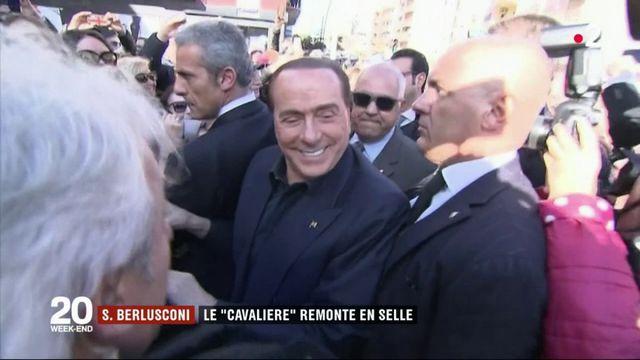 """Silvio Berlusconi : le retour du """"Cavaliere"""" en politique"""
